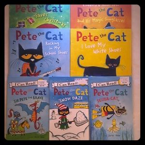 Pete The Cat Books (7)